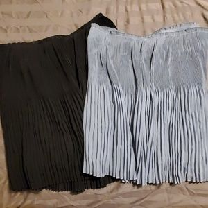 Pleated H&M Skirts - 2 for 1!